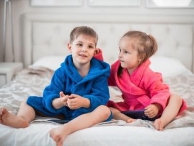 Детский махровый халат с именной вышивкой  — мечта ребенка